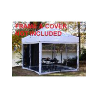 King Canopy Instant Canopy  Explorer 10 x 10 Screen Room Only